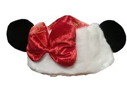 christmas hat santa minnie mouse ears