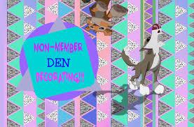 Den Decorating Ideas Non Member Den Decorating Animal Jam Speed Decorating Youtube