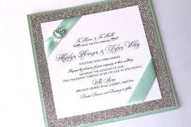 wedding invitation pouches marilyn custom glitter wedding invitation couture invitation