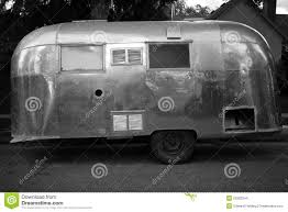 vintage airstream trailer stock images image 20282244