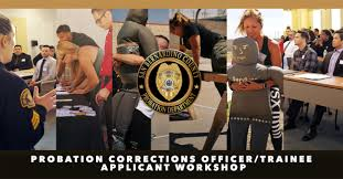probation corrections officer trainee applicant workshop june 2017