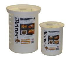 turkey brine container the briner the ultimate brine container 2 22 qt 8