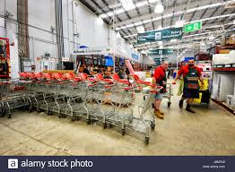 inside bunnings warehouse home improvements store shellharbour