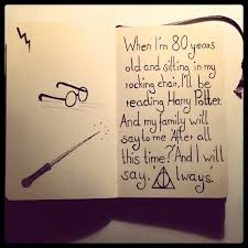 drawn quote harry potter pencil and in color drawn quote harry