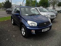 toyota rav4 3 door for sale used toyota rav4 car 2002 blue petrol 2 0 nrg 3 door 4wd 4x4 for