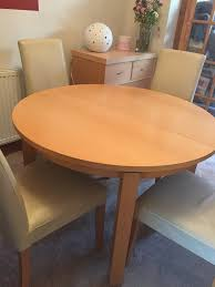 Beech Dining Table Next Oslo Beech Dining Table And Chairs In Morley West