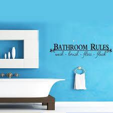 amazing bathroom quote decal bathroom vinyl bathroom wall decal full size of bathroom bathroom rules wash brush floss flush quote wall decal bathroom wall