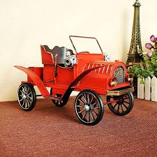 sale retro iron car model ornaments vintage metal