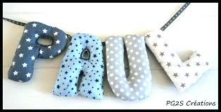 lettres pour chambre bébé lettre prenom chambre bebe lettre chambre bebe lettres tissus