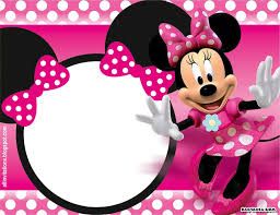 minnie mouse birthday minnie mouse birthday invitation template listmachinepro