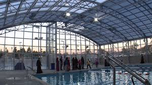 Garden City Family Ymca Glass Pool Enclosure At New Mid City Ymca Poses Problem For Muslim