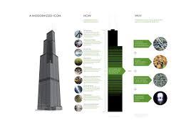 Sears Tower Floor Plan Adrian Smith Gordon Gill Architecture