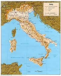Topographic Map Of Europe by Maps Of Italy Detailed Map Of Italy In English Tourist Map Of