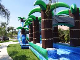 caribbean storm w slip n slide and pool south florida bounce