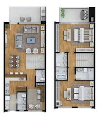 Luxury House Floor Plans 3 Level Vancouver Luxury Home Floor Plan Town House Pinterest