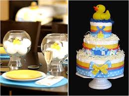 Rubber Ducky Baby Shower Decorations Baby Shower Duck Theme Ideas Ducks Baby Shower Diy