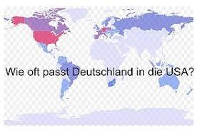 fl che deutschland wie oft passt deutschland in die usa