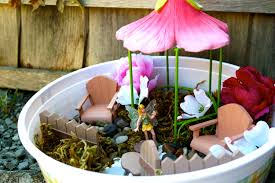 how to make an indoor fairy garden ever after in the woods