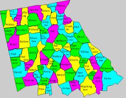 county map ga counties