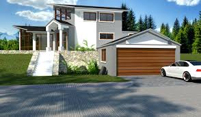 classy inspiration 5 house plans for houses on slopes example homeca