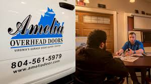 Overhead Garage Door Spring Replacement by Richmond Garage Door Spring Repair Services Amelia Overhead