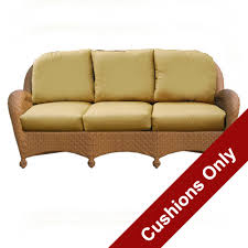 Cushions For Wicker Settee Outdoor Sofa U0026 Love Seat Cushions