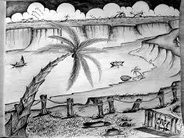 pencil drawings nature pictures beautiful pencil drawings of