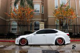 white lexus is 250 2014 adam arms is250 slammedenuff