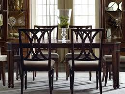Centerpieces For Round Dining Room Tables by Faux Marble Dining Table With Parson Chairs And Dining Bench