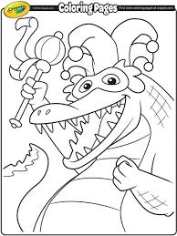 mardi gras alligator mardi gras alligator coloring page crayola