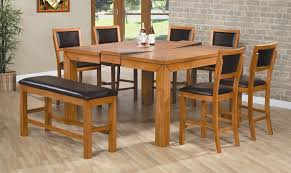 kitchen high top table and chairs counter height dining table