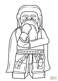 lego albus dumbledore coloring free printable coloring