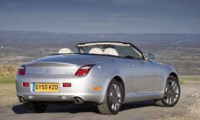 lexus convertible 2017 lexus sc roadster review 2001 2009 parkers
