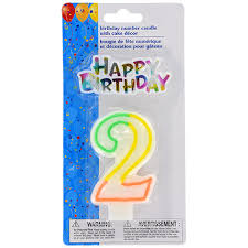 birthday candle bulk number 2 birthday candles with cake décor 2 pc sets at