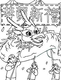 chinese dragon head coloring pages dragons source