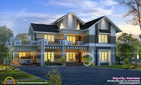 Contemporary Colonial House Plans February 2015 Kerala Home Design And Floor Plans