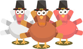 free thanksgiving images 6 turkeys 1 free clipart