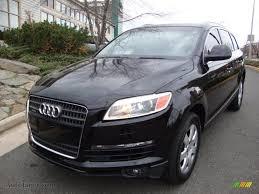 Audi Q7 2007 - 2007 audi q7 3 6 premium quattro in phantom black pearl effect