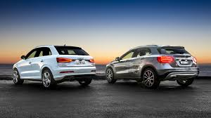 compare lexus vs audi audi q3 v mercedes benz gla class comparison review photos 1