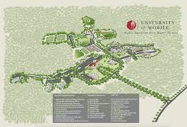 University Of Chicago Map by Employment University Of Mobile
