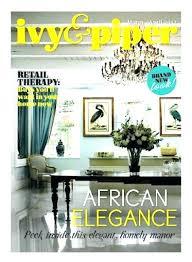 online home decor magazines home decor magazine home decorating magazines ivy and piper online