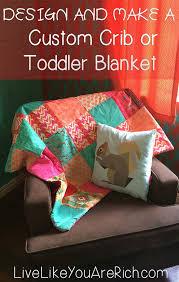 Crib Comforter Dimensions Best 25 Diy Toddler Blankets Ideas On Pinterest Baby Blanket