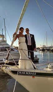 nautical weddings blue crab chesapeake sailing charters cruises rock