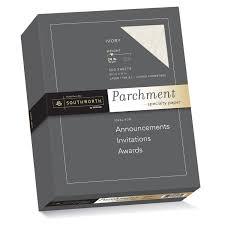writing parchment paper amazon com southworth fine parchment paper 24lb 8 5 x11 ivory amazon com southworth fine parchment paper 24lb 8 5 x11 ivory 500 sheets 984c office products