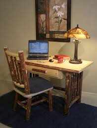 Pine Office Furniture by Pine Writing Desk