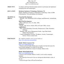 Web Designer Resume Sample Free Download Cover Letter Web Designer Resume Examples Web Designer Resume