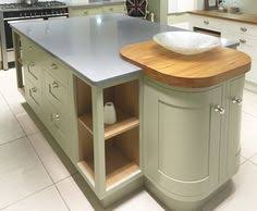 Curved Island Kitchen Designs Contemporary Kitchen Island Design In Blue With Curved Units