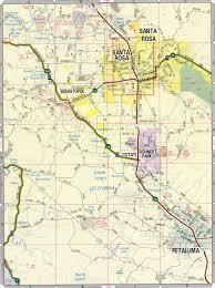 California Road Map Sebastopol Road Map