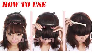 clip in fringe best fringe bangs clip in on hair extensions