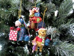 jim shore winnie the pooh hanging ornaments set of 3 eeyore tigger